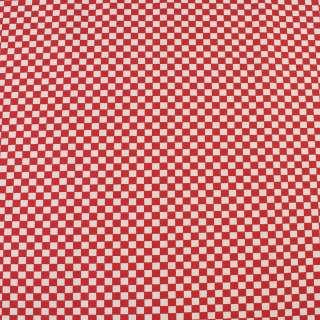 Деко-котон червоно-біла шахматка 6мм, ш.150