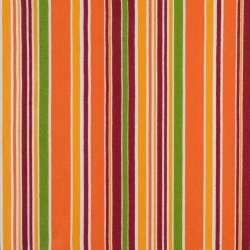 Деко-котон салатово-помаранчеві, бордово-білі смужки ш.150