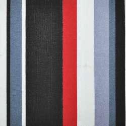 ткань мебел. красно-черную+серо-белую полоску ш.150