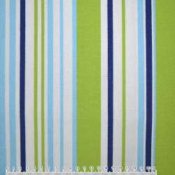 ткань мебел. салат-голуб+ сине-белые полоски ш.150