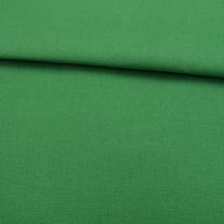 Деко-коттон зеленый яркий (оттенок светлее) ш.150