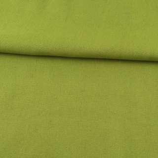 Деко-коттон зеленый лаймовый ш.150