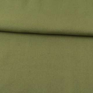 Деко-коттон оливково-зеленый (оттенок светлее) ш.150