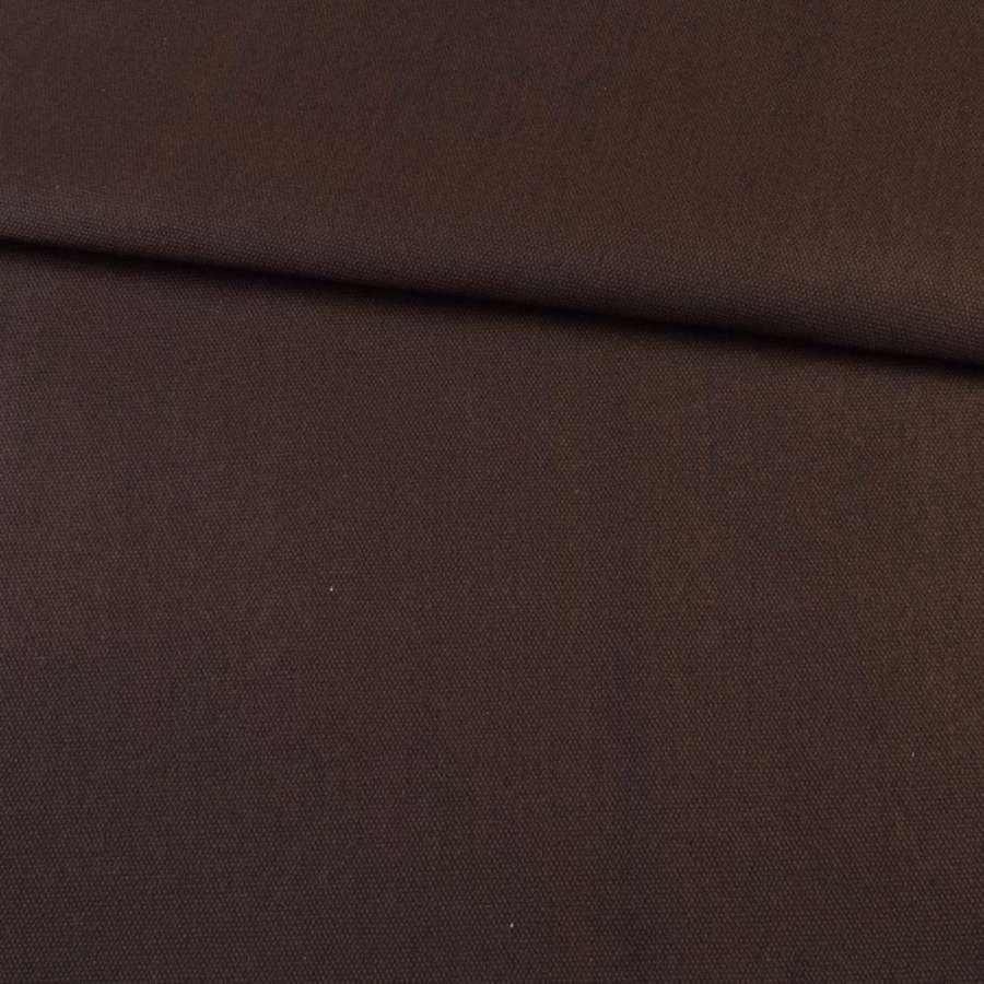 Деко коттон коричневый темный, ш.150