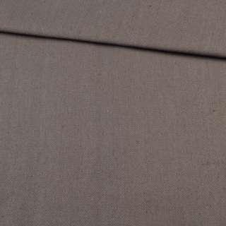 Деко коттон коричнево-серый, ш.150
