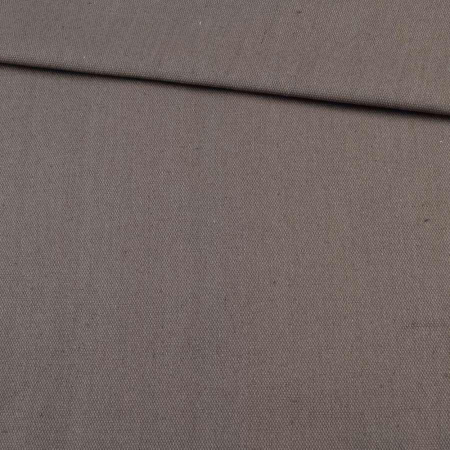 Деко-коттон коричнево-серый, ш.150