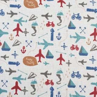 Деко-льон молочний в літаки, велосипеди, ш.150