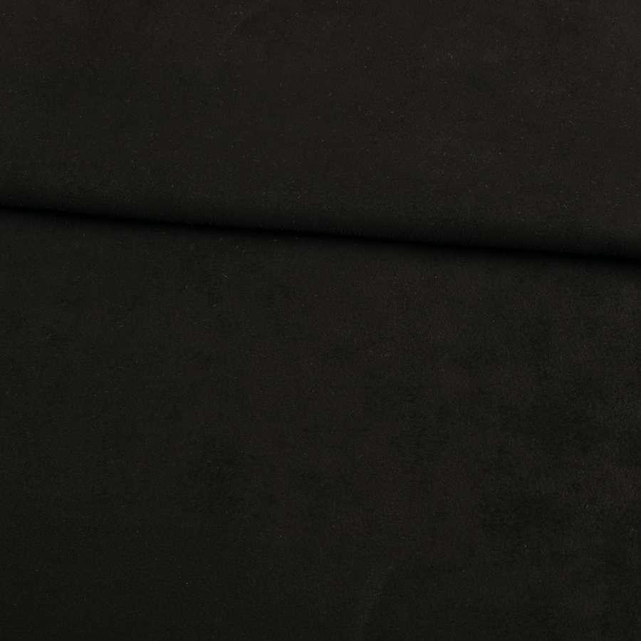Замша на дайвинге черная, ш.155