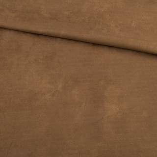 Замша на дайвінг коричнева, ш.150