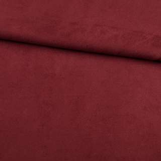 Замша на дайвинге бордовая, ш.150
