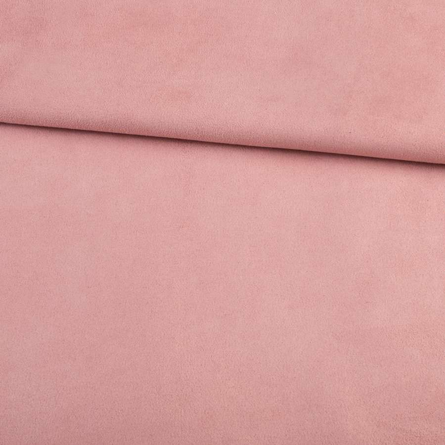 Замша на дайвинге розовая, ш.148