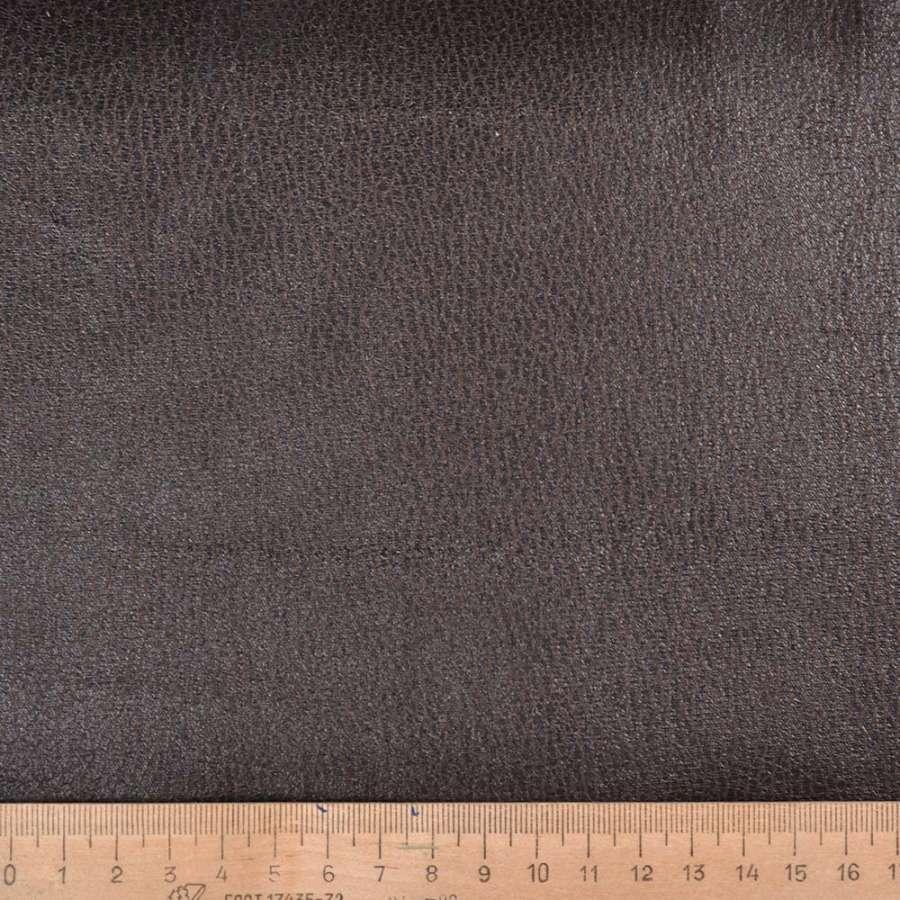 Замша искусственная коричневая ш.150