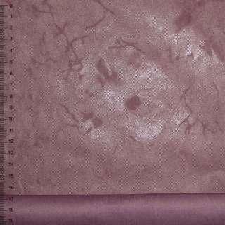 Замша искусственная фуксия с лазерным покрытием
