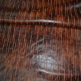 Кожа  иск.  коричневая  разв.