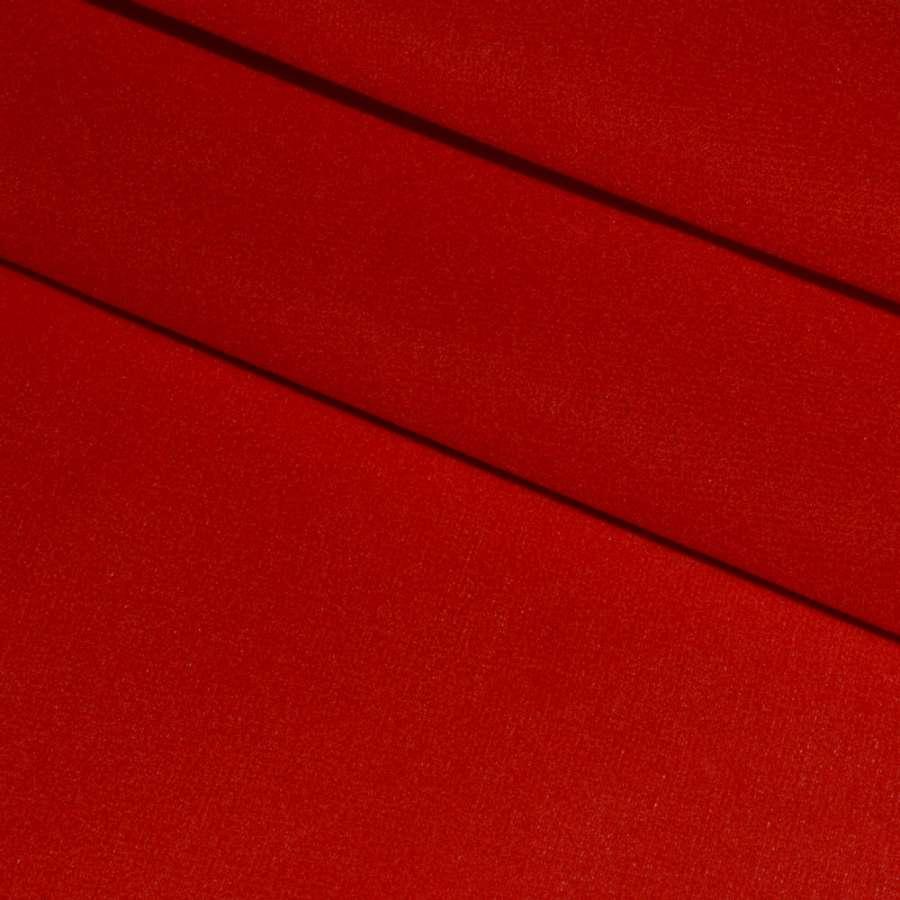 Замша флок (декоративна) червона ш.170