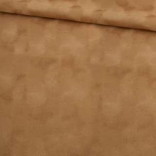 замша флок темно-бежева ш.150