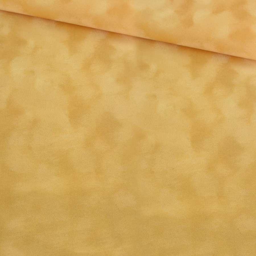 Замша флок желтая ш.150