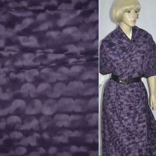 замша флок фіолетова ш.150 см.