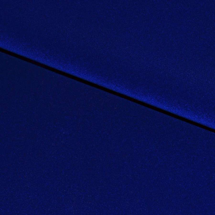 Замша-флок (декор.) темный электрик ш.170