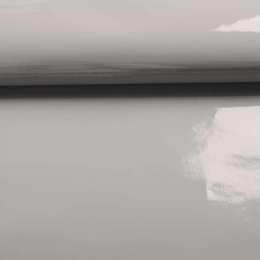 лаке серое однотонное (0,3 мм.) ш.140 см.