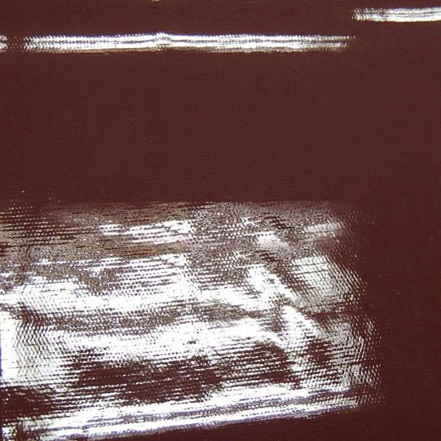 Лаке коричневе однотонне (0,3 мм) ш.140