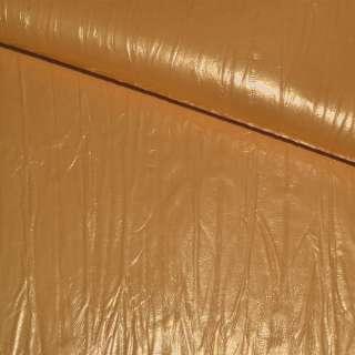 кожа иск. оранжево-желтая, ш.140 см