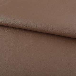 кожа искуст. на флисе молочно-шоколадная ш.140