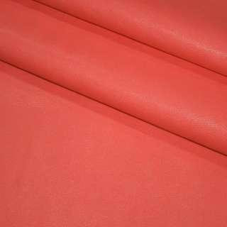 Шкіра штучна амарантового (рожева) на флісі ш.140