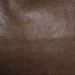 кожа искуст. каштановая на флисе ш.140