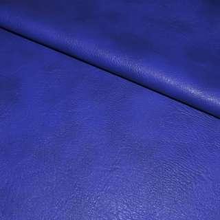 кожа искуств. универсальная на флисе синяя-электрик ш.143