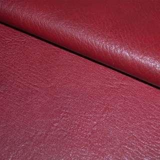 кожа искуств. универсальная на флисе вишневая ш.145