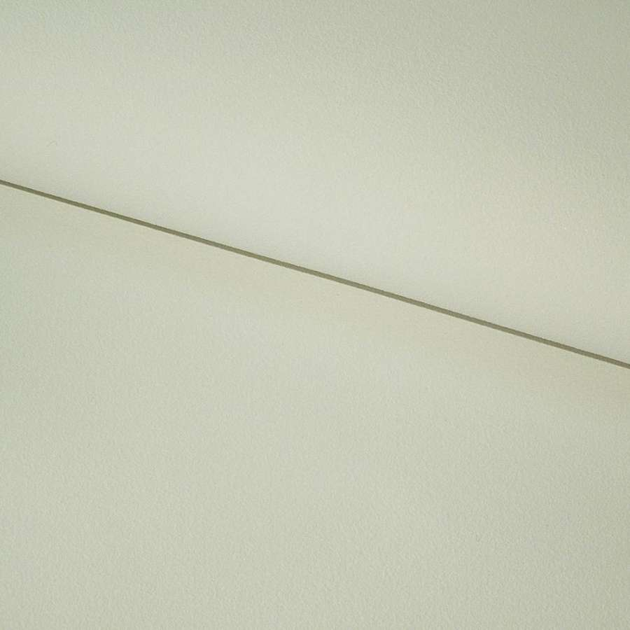 Кожа искусственная нубук на х/б основе белая с серым оттенком ш.140