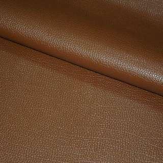 """кожа искусcт. коричневая на флисе  """"пузырьки"""" ш.145"""