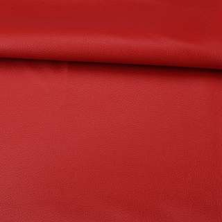 Шкіра штучна червона ш.145