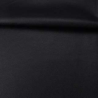 Кожа искусственная черная ш.145