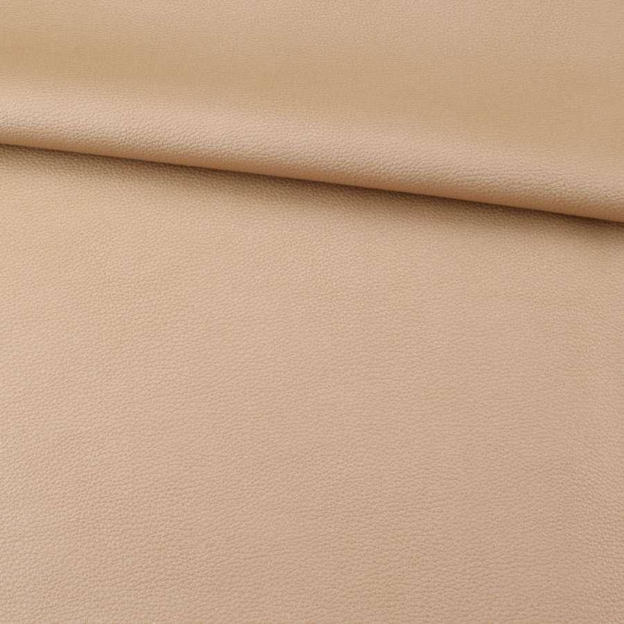 Кожа искусственная золотистая ш.140