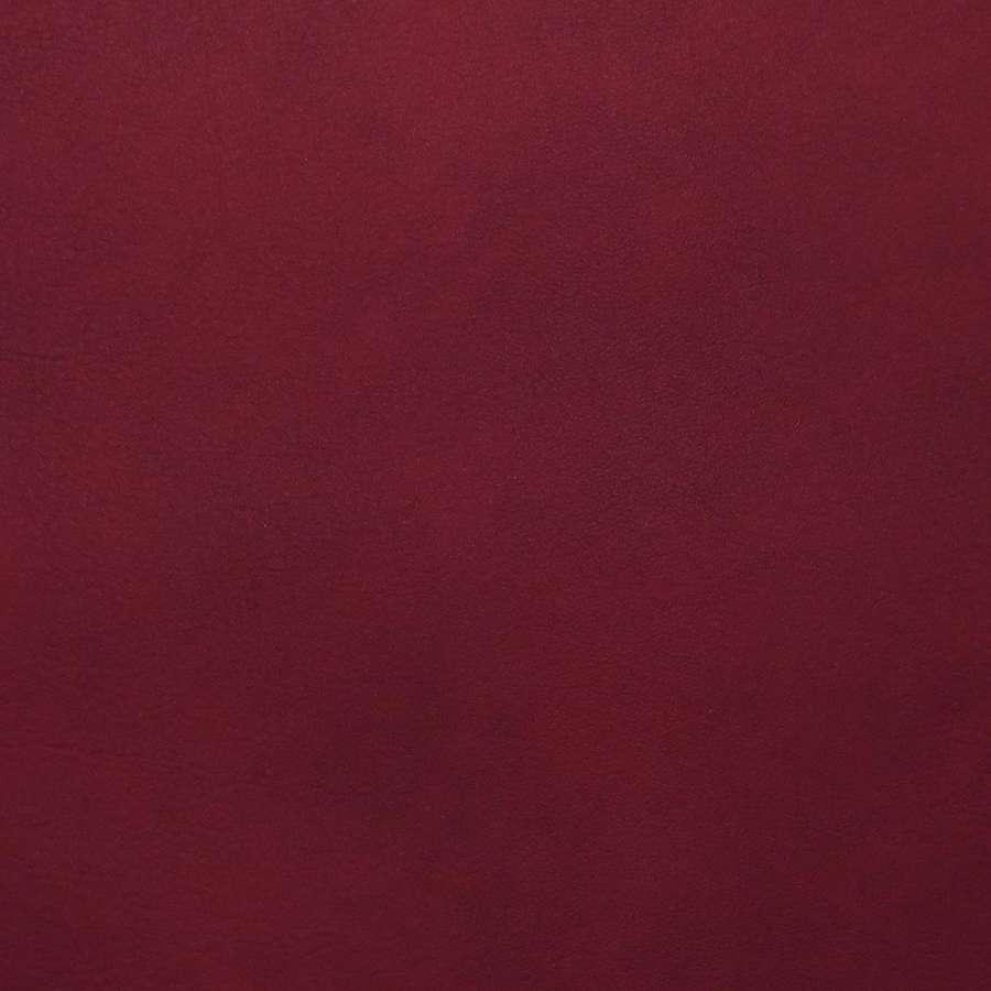 Дермантин вишневый  ш.140
