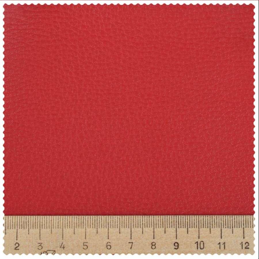 кожзам мебельный обивочный красный 43-0000 ш.145