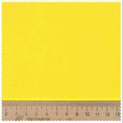 Кожа искусственная мебельная обивочная желтая 98-0000 ш.145