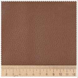 Кожа искусственная мебельная обивочная коричневая 73-0000 ш.145