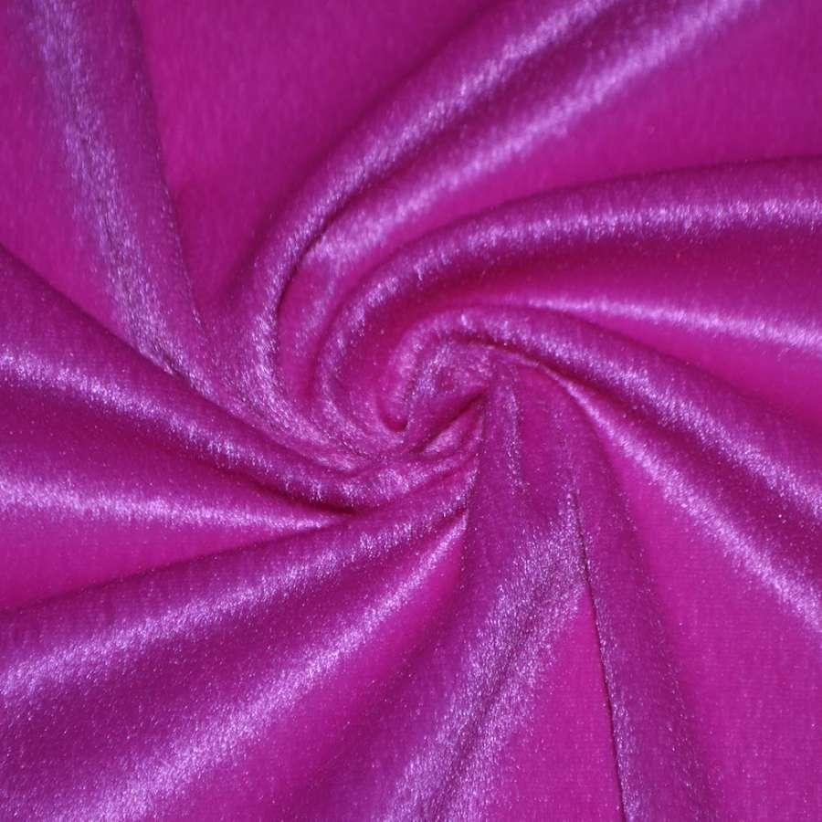 мех к/в ярко-розовый однотонный, ш.150
