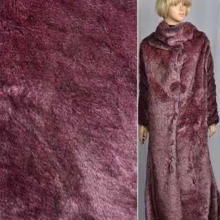 """Хутро позов. """"Fellimitat"""" лисиця рожева, ворс-25мм, ш.165"""