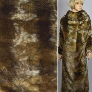"""Хутро позов. """"Fellimitat"""" лисиця степова рудо коричнево біла, ворс-30, ш.140"""