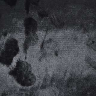 мех каракульча черный