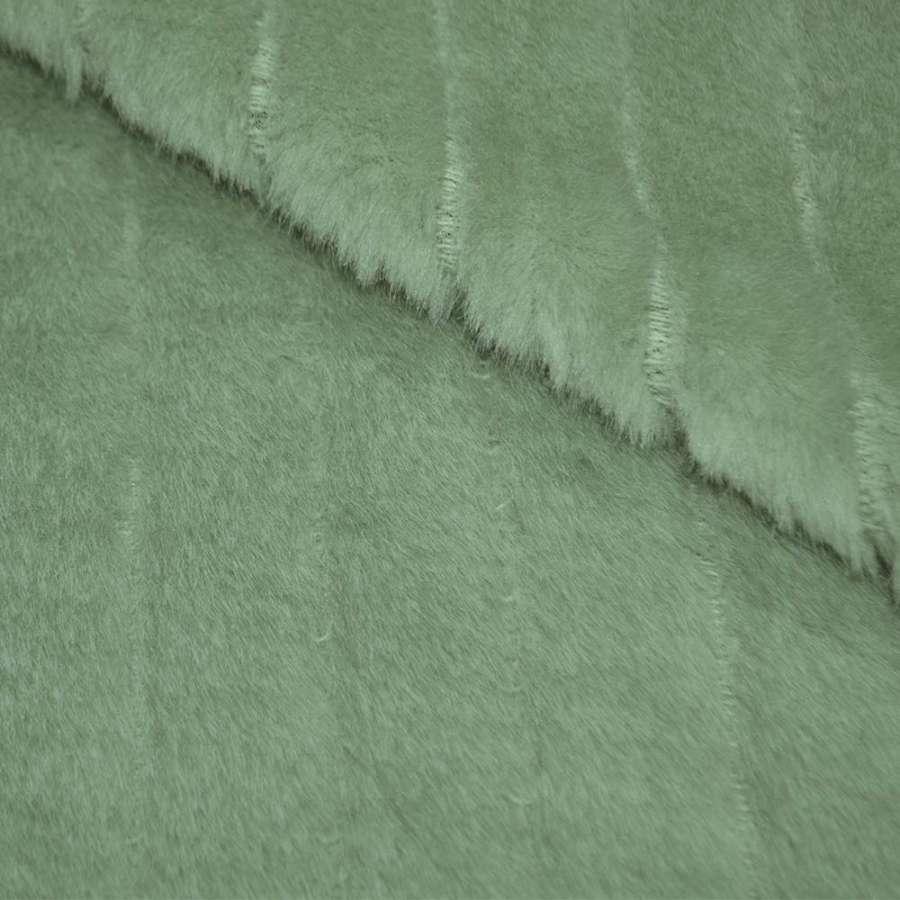 Мех искусственный морская волна ш.155