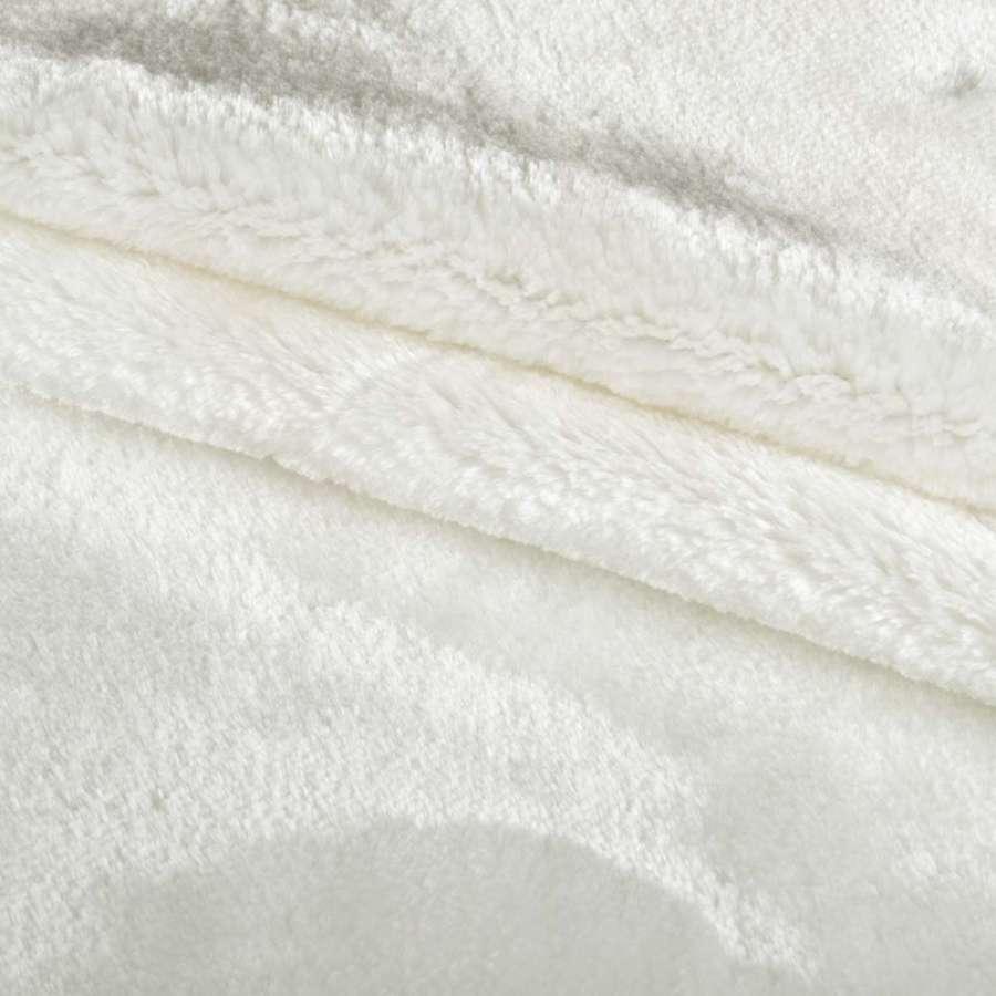 мех искуст. средне-ворсный белый (мутон) ш.185