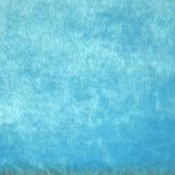 мех голубой однотон. ш.164