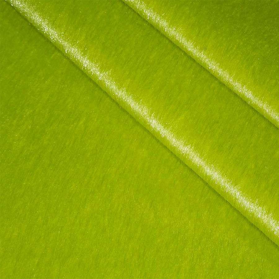 мех к/в зеленый однотонный, ш.150