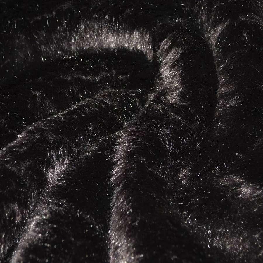 мех коричневый дл/ворс ш.170