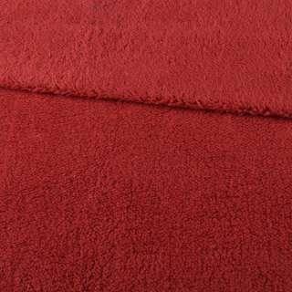 Мех искусственный овчина тонкий красный ш.175